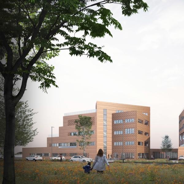Isolering varmerør, brugsvand og tagvand på Kontor B i Sønderborg